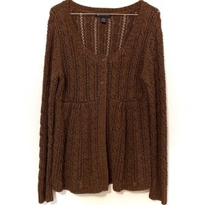 I.N.C. International Concepts Cable Knit Sweater